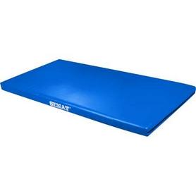 Мат гимнастический Senat 1х2 м синий
