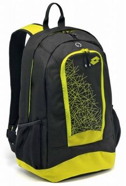 Рюкзак Lotto Backpack LZG III S4348 Black/Yellow Safety