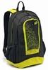 Рюкзак Lotto Backpack LZG III S4348 Black/Yellow Safety - фото 1
