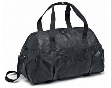 Сумка Lotto Bag Fitness W S4328 Black/Titan Grey