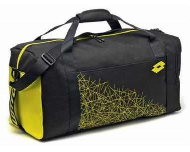 Сумка Lotto Bag LZG III M S4311 Black/Yellow Safety