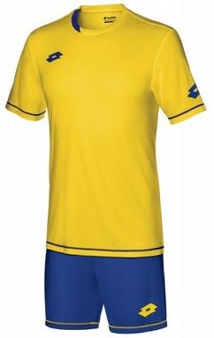 Форма футбольная (шорты, футболка) Lotto Kit Sigma EVO S3704 Yellow/Royal