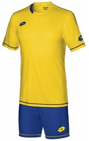 Форма футбольная (шорты, футболка) Lotto Kit Sigma EVO S3704 Yellow/Royal - M
