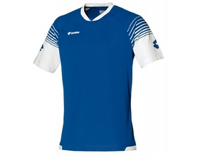 Футболка футбольная Lotto Jersey Omega Q8529 Royal/White