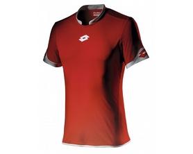 Футболка футбольная Lotto Jersey Extra Evo SS R9685 Flame/White