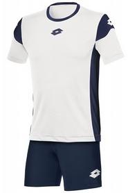 Форма футбольная детская Lotto Kit Stars EVO JR R9737 White/Navy