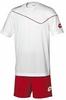 Форма футбольная детская (шорты, футболка) Lotto Кit Sigma JR Q2818 White - фото 1