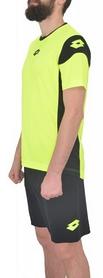 Фото 2 к товару Форма футбольная (шорты, футболка) Lotto Kit Stars EVO R9692 Fluo Yellow/Black
