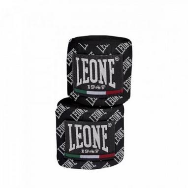 Бинты боксерские Leone 4,5м Black (2 шт)