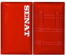 Макивара двойная Senat 58х38х17 см красная (1 шт)
