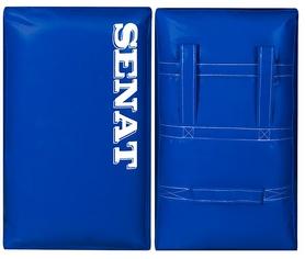 Макивара двойная Senat 48х28х12 см синяя (1 шт)