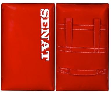 Макивара двойная Senat 48х28х12см красная (1 шт)