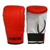 Перчатки снарядные кожаные Sportko PD-3-R красные - фото 2