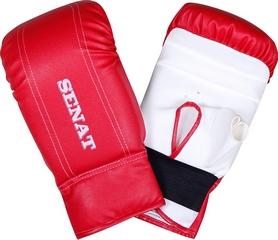 Перчатки снарядные Senat 1468 красно-белые