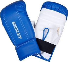 Перчатки снарядные Senat 1468 сине-белые