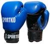Перчатки боксерские Sportko PD-1BL синие - фото 1