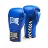 Перчатки боксерские Leone Supreme Blue - фото 1