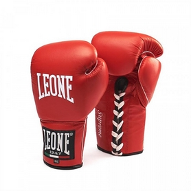 Перчатки боксерские Leone Supreme Red