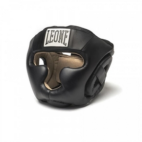Шлем боксерский Leone Junior Black