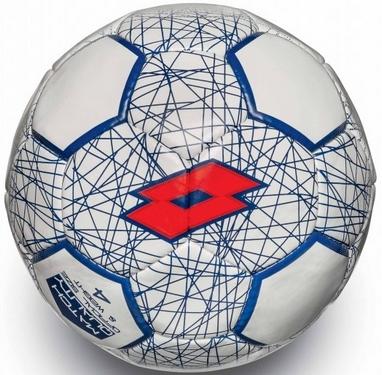 Мяч футбольный Lotto Ball FB700 LZG 4 S4069 White/Red Fluo - 4