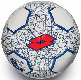 Мяч футбольный Lotto Ball FB700 LZG 5 S4072 White/Red Fluo - 5