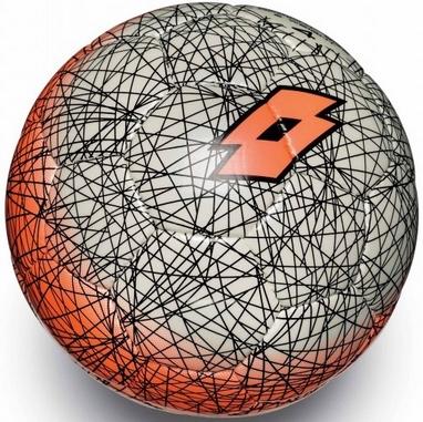 Мяч футбольный Lotto Ball FB500 LZG 4 S4083 White/Fanta Fluo – 4