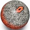 Мяч футбольный Lotto Ball FB500 LZG 4 S4083 White/Fanta Fluo – 4 - фото 1