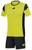 Форма футбольная детская Lotto Kit Stars EVO JR R9742 Fluo Yellow/Black - фото 1