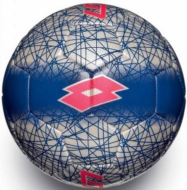 Мяч футбольный Lotto Ball FB900 LZG 5 S4094 White/Red Fluo – 5