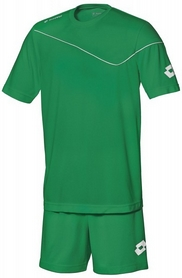 Форма футбольная детская (шорты, футболка) Lotto Кit Sigma JR Q3523 Grass