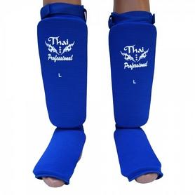 Защита ног (голень+стопа) Thai Professional SG5 синяя