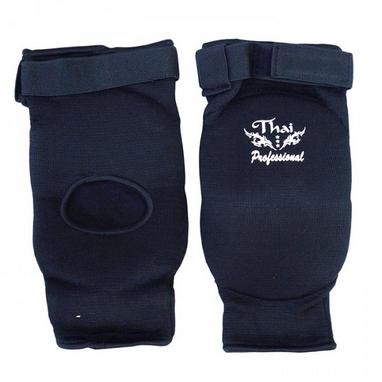 Налокотники для тайского бокса Thai Professional EB1 черные (1 шт)
