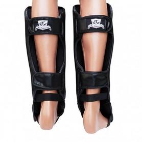 Фото 2 к товару Защита ног (голень+стопа) Thai Professional SG3 черные