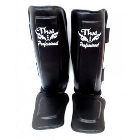 Фото 4 к товару Защита ног (голень+стопа) Thai Professional SG3 черные