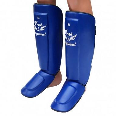Защита ног (голень+стопа) Thai Professional SG3 голубые