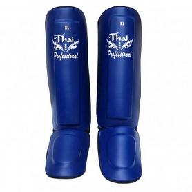 Фото 2 к товару Защита ног (голень+стопа) Thai Professional SG3 голубые