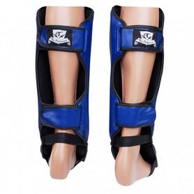 Фото 3 к товару Защита ног (голень+стопа) Thai Professional SG3 голубые