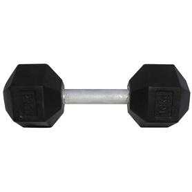 Фото 1 к товару Гантель профессиональная шестигранная Newt Profi 64 кг