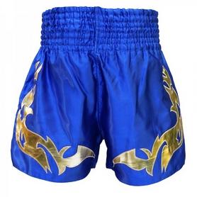 Фото 2 к товару Трусы для тайского бокса Thai Professional S16 TPS16-BL/G
