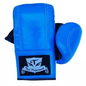 Перчатки снарядные Thai Professional BG6 TPBG6-BL синие