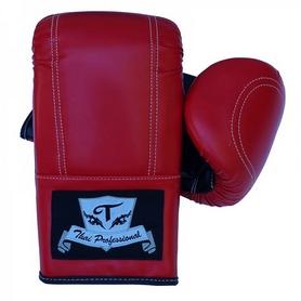 Перчатки снарядные Thai Professional BGA6 TPBGA6-R красные