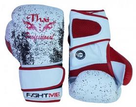 Фото 2 к товару Перчатки боксерские Thai Professional BG1 TPBG1GEL белые