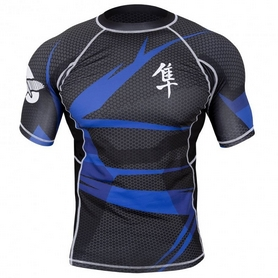 Рашгард Hayabusa Metaru 47 Rash Guard Shortsleeve Blue