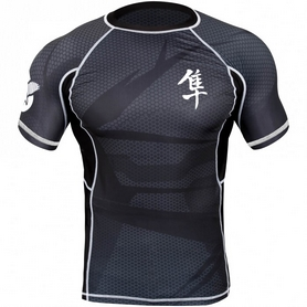 Рашгард Hayabusa Metaru 47 Rash Guard Shortsleeve Black