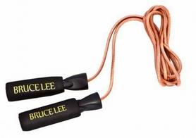 Скакалка кожаная утяжеленная BruceLee 13BLSFU002
