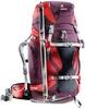 Рюкзак туристический Deuter Rise Tour 40+SL aubergine-fire - фото 2