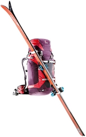 Фото 3 к товару Рюкзак туристический Deuter Rise Tour 40+SL aubergine-fire