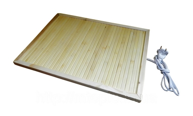 Обогреватель бамбуковый инфракрасный Трио (0,32х 0,42 м)