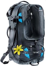 Рюкзак туристический Deuter Traveller 60 + 10 SL black-turquoise 7321