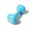 Гантель виниловая Reebok 4 кг голубая - фото 1